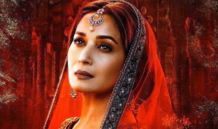 Madhuri Dixit as Bahaar Begum in Kalank poster
