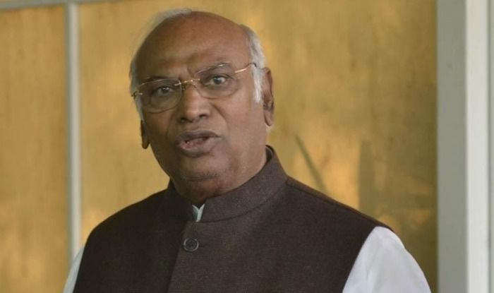 Congress leader Mallikarjun Kharge