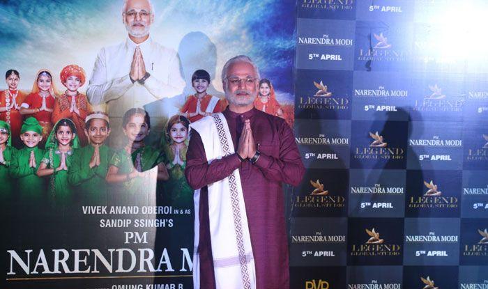 Actor Vivek Oberoi as PM Narendra Modi