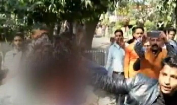 Muzaffarnagar: BJP Workers Thrash Youth For Criticising Government Over Job Cuts, Call Him 'Terrorist' – Watch Video