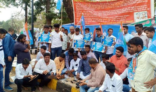 Congress-backed NSUI Members Polish Shoes Nationwide in Protest Over Lack of Jobs | See Pics