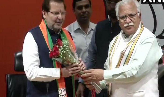 Lok Sabha Elections 2019: After Tom Vadakkan, Three-time Congress MP Arvind Sharma Joins BJP