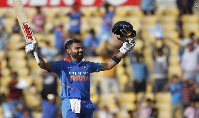 India vs Australia 2nd ODI Match Report: Virat Kohli, Bowlers Shine as India Edge Australia by 8 Runs to Register 500th ODI Victory in Nagpur