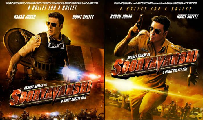The First Look Posters of Akshay Kumar's Sooryavanshi Are Out