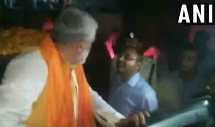 FIR Against Union Minister Ashwini Choubey For Misbehaving With Bihar SDM