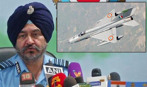 IAF Chief BS Dhanoa Silences MiG21 Bison Critics, Says it is Capable of Fighting Enemy