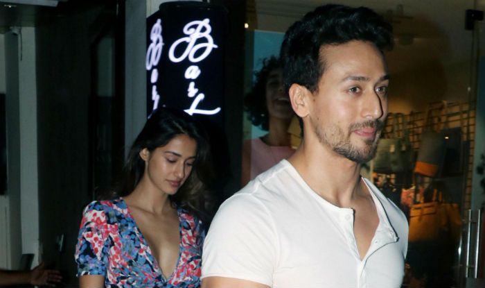 Tiger Shroff And Disha Patani Can't Stop Blushing as They Step Out From a Dinner Date- See Pics
