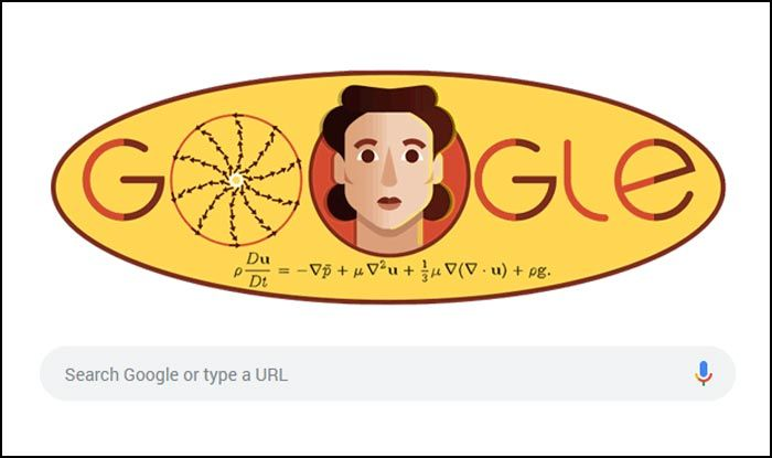 Google Honours Russian Mathematician Olga Ladyzhenskaya on Her 97th Birthday, Features a Quirky Doodle of Hers on Search Engine's Homepage