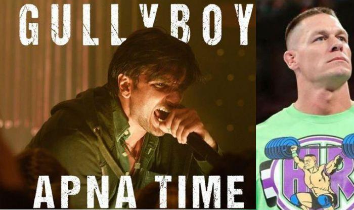 John Cena Introduced 'Apna Time Aayega' Long Before Ranveer Singh Did in Gully Boy- Watch