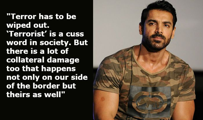 John Abraham Talks About 'War Against Terrorism' And Releasing RAW-Romeo Akbar Walter at The Time of India-Pakistan Tension