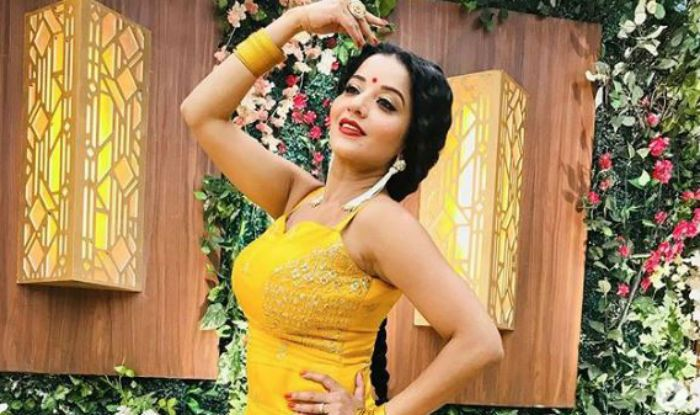 Bhojpuri Hot Actress Monalisa's Sensuous Pic While Dancing in a Sexy Yellow Suit Will Wash Away Your Tuesday Blues- See Here