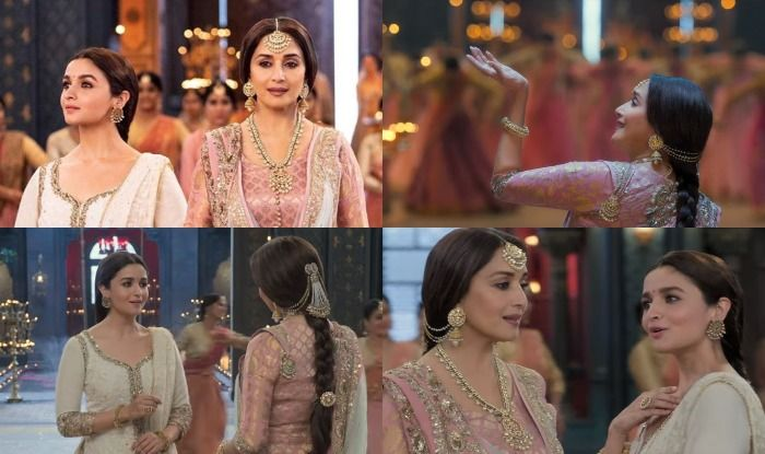 Kalank song Ghar More Pardesiya featuring Alia Bhatt and Madhuri Dixit