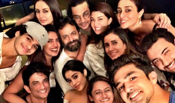 Priyanka Chopra, Janhvi Kapoor, Ishaan Khatter, Tabu and others pose for a selfie