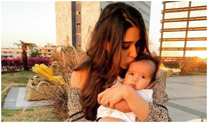 Ritika Sajdeh with daughter Samaira