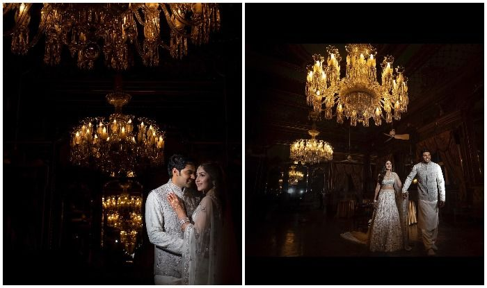 Sayyeshaa Saigal And Husband Arya Redefine Regal at Their Pre-wedding Photoshoot