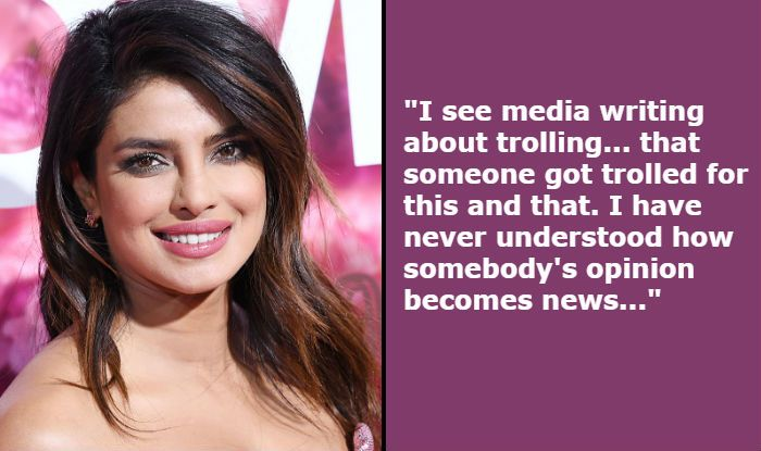 Priyanka Chopra Makes Five Important Statements About Trolling, Social Media Pressure And Living With Internet
