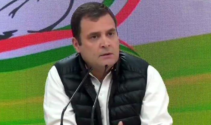 Lok Sabha Elections 2019: Isn't BJP to Blame For Sending Back JeM Chief Masood Azhar to Pakistan, Asks Rahul Gandhi