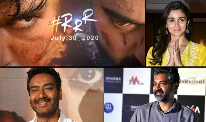SS Rajamouli's 'RRR' to Have Ajay Devgn-Alia Bhatt With Jr NTR And Ram Charan, First Poster Out