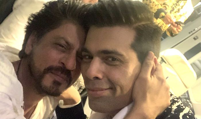 Karan Johar Posts Selfie With Shah Rukh Khan Giving Back to Those Who Trolled Him For Liking an Anti-SRK Tweet
