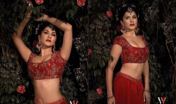 Sunny Leone's Sexy Bridal Look is Giving us all Sorts of Lehenga Choli Goals-See Here