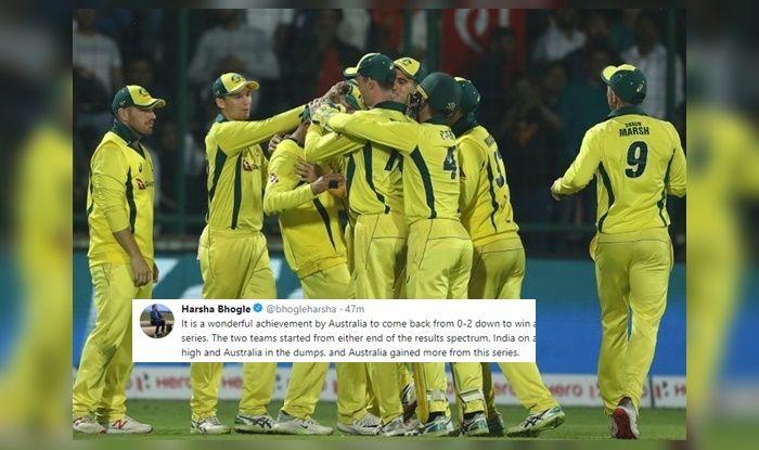 twitter lauds Australian cricket team