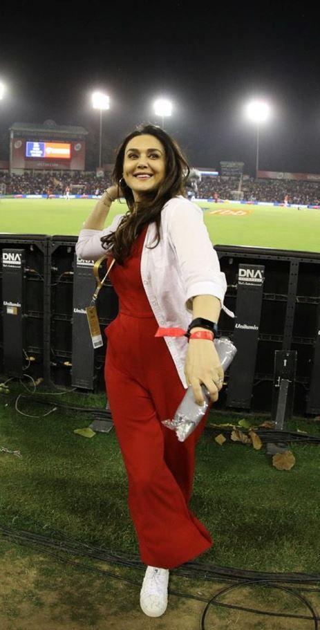 Preity Zinta (Image Courtesy: IPL)