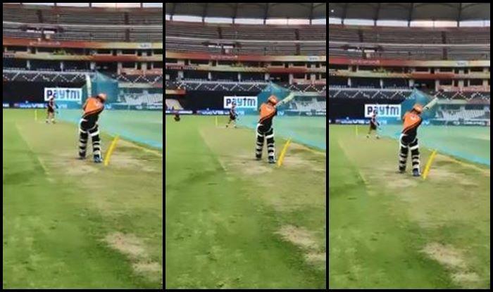 Rashid Khan MS Dhoni IPL 2019 RR vs SRH
