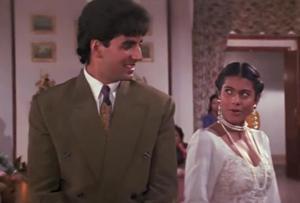 Kajol and Akshay Kumar in Yeh Dillagi