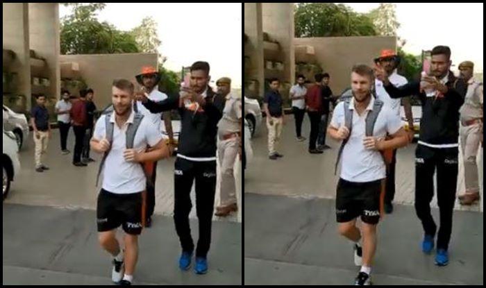 David Warner Khaleel Ahmed RR vs SRH IPL 2019