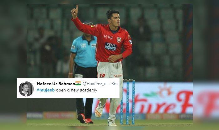 Mujeeb ur Rahman SRH vs KXIP IPL 2019