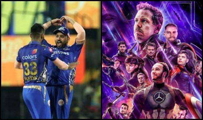 Rohit Sharma Hardik Pandya IPL 2019 CSK v MI