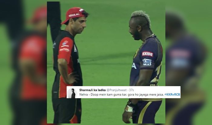 Andre Russell Ashish Nehra
