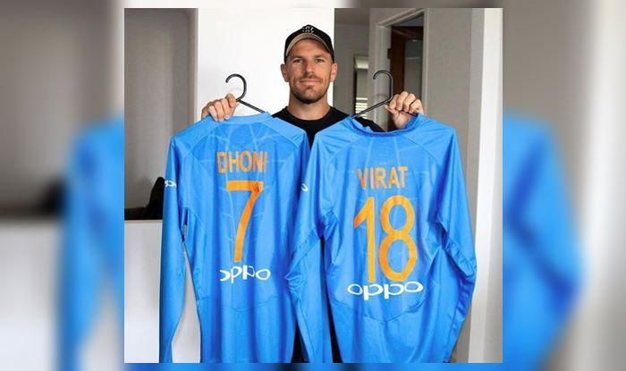 Aaron Finch Virat Kohli ICC World Cup 2019