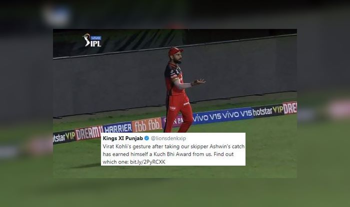 Virat Kohli Kings XI Punjab Ravichandran Ashwin DC vs RCB IPL 2019