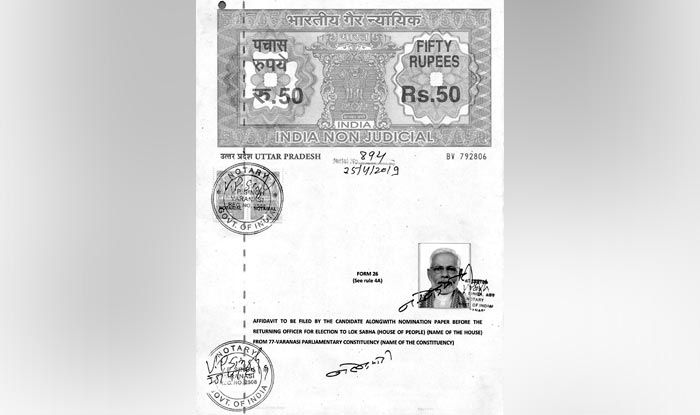 Affidavit-Modi