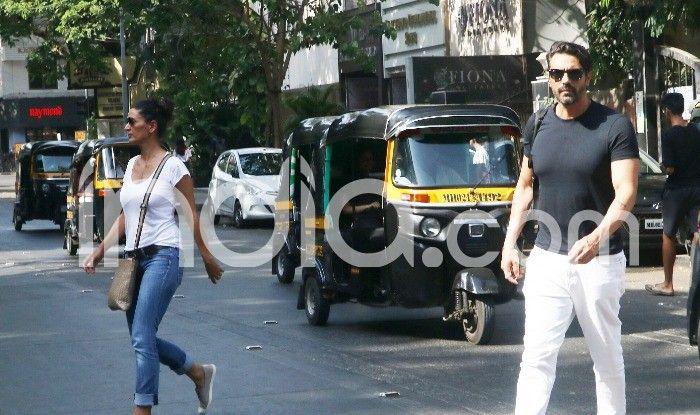 Arjun Rampal with ex-wife Mehr Jesia