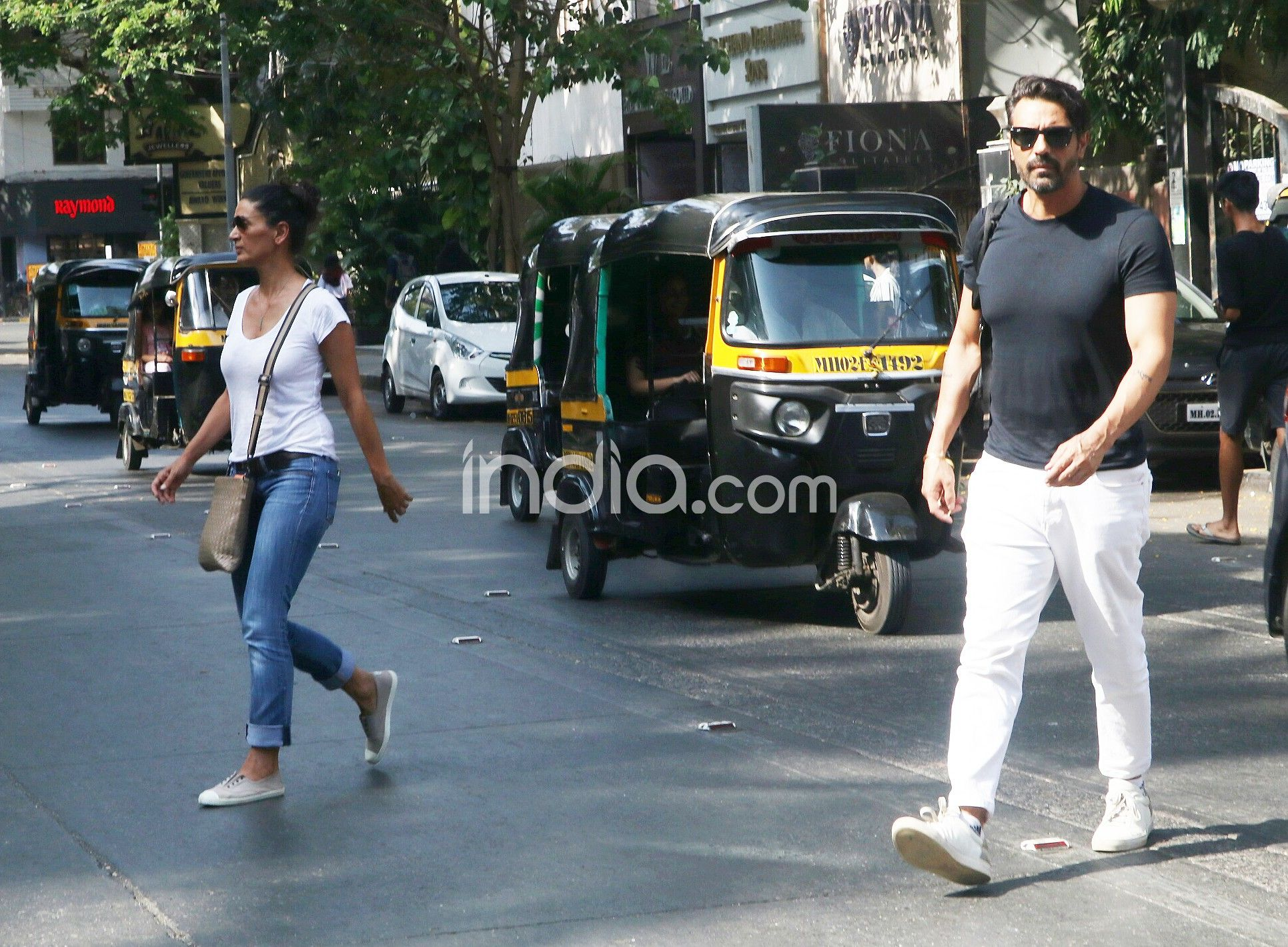 Arjun Rampal with ex-wife Mehr Jesia