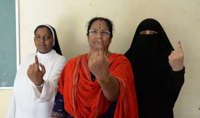 Polling in Karnataka