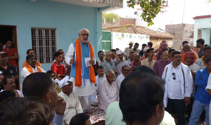 Campaigning in Bihar