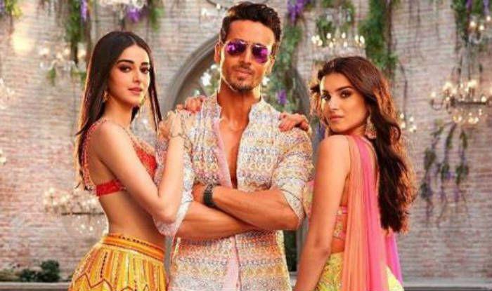 Tara Sutaria, Ananya Panday and Tiger Shroff from the song 'Mumbai Dilli Di Kudiyaan'