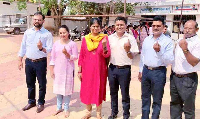 Polling in Chhattisgarh
