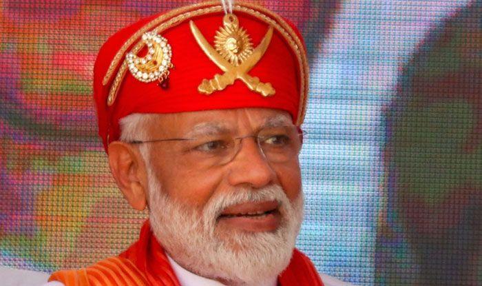 Prime Minister Narendra Modi in Chittorgarh