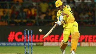 धोनी की तूफानी पारी के बावजूद हारी चेन्नई, बैंगलोर ने रोमांचक मैच को 1 रन से जीता