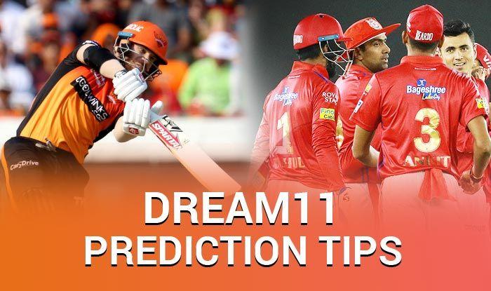 Dream11 Guru prediction and tips - Hyderabad vs Punjab