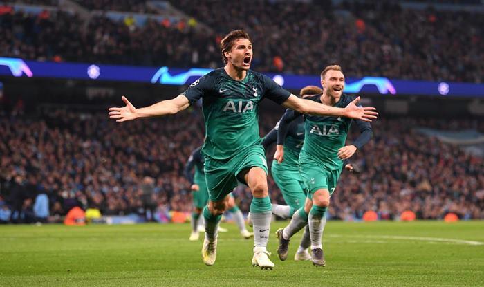 Champions League, Manchester City, Tottenham, UEFA Champions League, UCL Quarterfinals, Fernando Llorente, Sergio Aguero