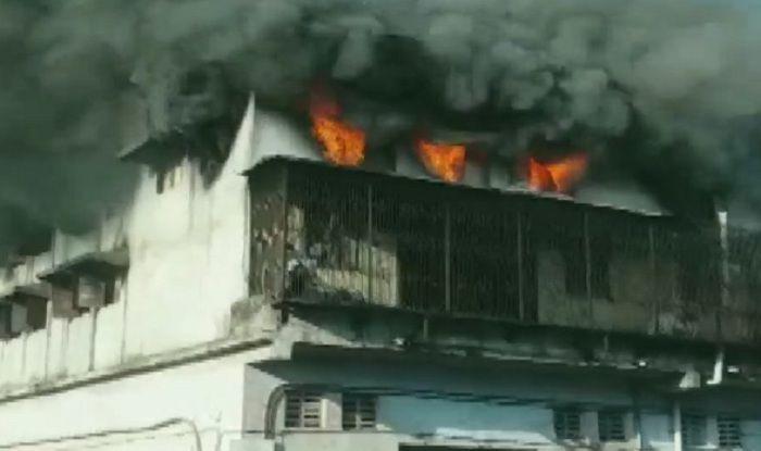 Maharashtra: Fire Breaks Out at Jai Mata Di Complex in Bhiwandi, no Casualties Reported
