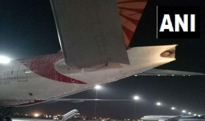 Air India Flight Catches Fire During AC Repair Work at Delhi Airport
