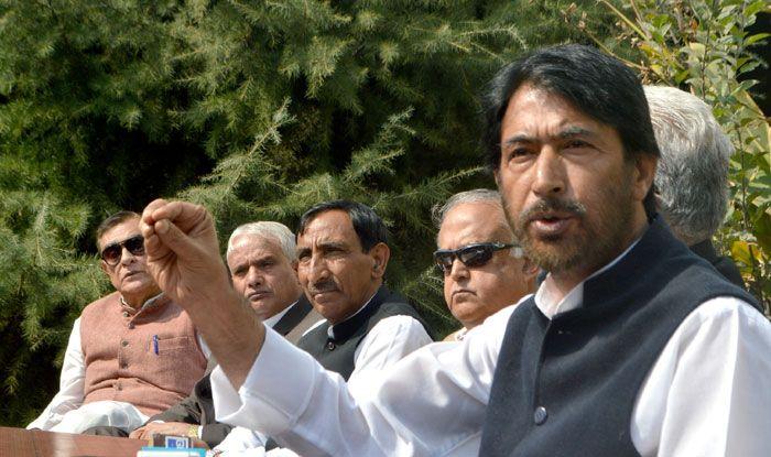 Congress leader GA Mir