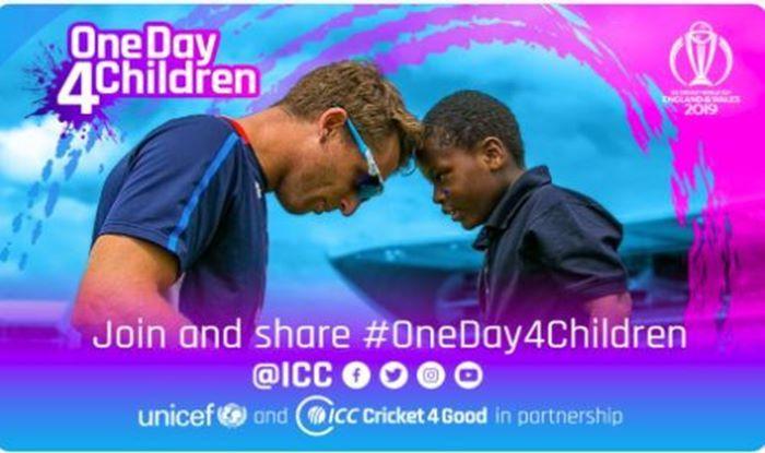 OneDay4Children, ICC, World Cup 2019