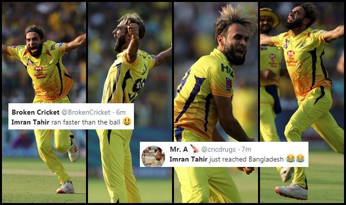 IPL 2019: Imran Tahir Removes Chris Lynn, Andre Russell in One Over to Send Twitter in Frenzy, Fans Hail Veteran Leg-Spinner For Four-For During KKR vs CSK Match | SEE POSTS